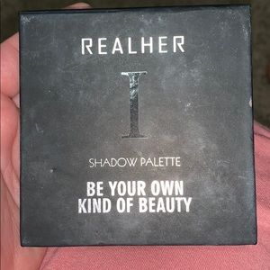 Realher shadow pallette -  just swatched!